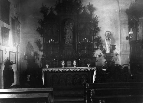 2- autel Vierge 1920