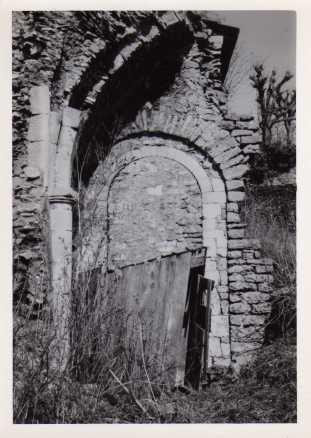 vestige abbaye 1975