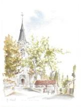 2 l'église et le lavoir