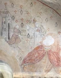 St Christophe, enfant Jésus et ermite