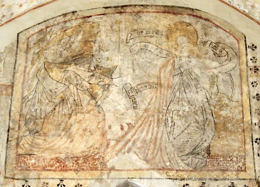 L'ange Gabriel annonce à Marie qu'elle est enceinte