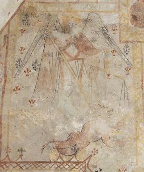 L'ange St Michel terrasse le dragon